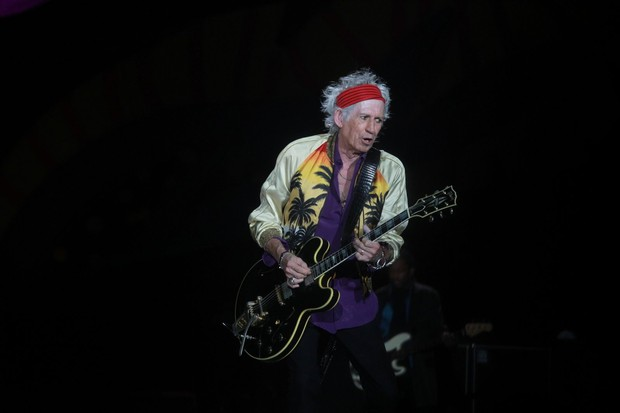 Keith Richards (Foto: Marcello Sá Barretto  / AgNews)