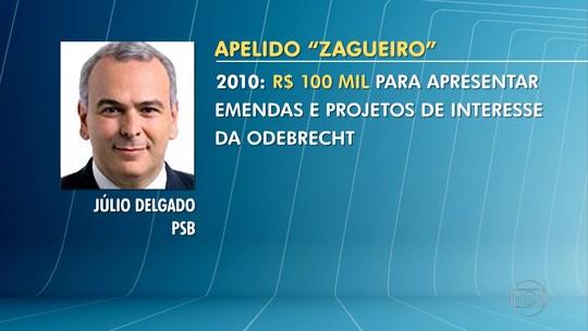 Delação da Odebrecht: Deputado federal Júlio Delgado é citado em lista de delator