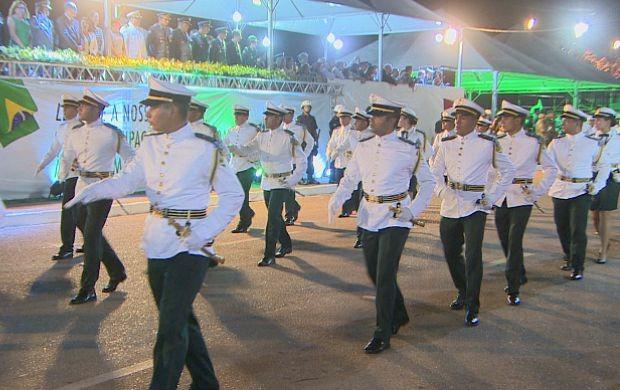 Desfiles da Independência marcam comemoração em RO (Foto: Rondônia TV)