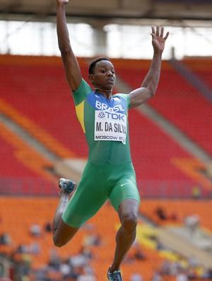 Mauro Vinicius da Silva, o Duda, Mundial de Atletismo em Moscou - AP (Foto: AP)