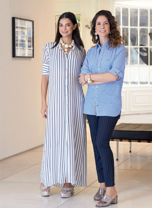 Luly Vianna e Fernanda Cortez (Foto: Denny Sach / Revista Glamour )