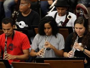 Investimento na orquestra NEOJIBA está entre ações divulgadas (Foto: Carol Garcia/GOVBA)