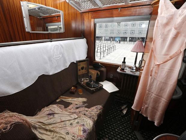 Vagão de passageiros do Orient Express (Foto: Charles Platiau/Reuters)