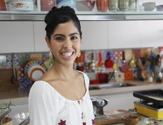 Formada em nutrição pela Hunter College, em NY, Bela Gil faz sucesso com sua culinária saudável (Foto: Divulgação)
