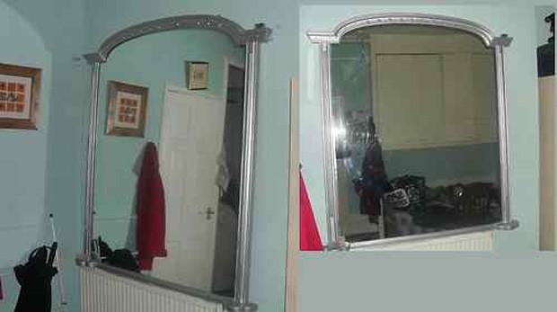 Espelho seria responsável por atividades sobrenaturais na casa (Foto: Reprodução)