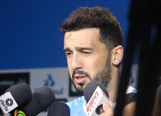 Edílson Grêmio (Foto: Eduardo Moura/GloboEsporte.com)