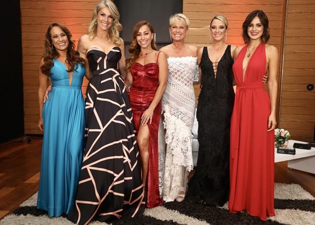 Renata Alves, Ana Hickmann, Sabrina Sato, Xuxa, Ticiane Pinheiro e Vera Viel (Foto: Manuela Scarpa e Marcos Ribas/Brazil News)