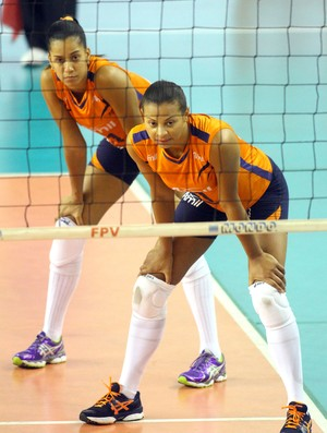 Walewska Ju Nogueira vôlei Campinas (Foto: Felipe Christ/Amil)