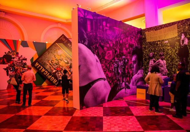 Tropicália. Em Petrópolis, a exposição revisita a energia e a emoção do movimento que marcou época nos anos 1960, cujos ecos continuam vivos na nossa cultura / Foto: Ezio Philot (Foto: Ezio Philot)