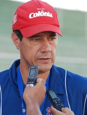 Rogerio Perrô, técnico do Toledo (Foto: Divulgação/ Site oficial do Toledo)