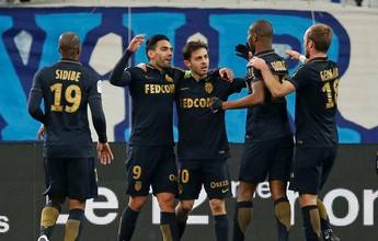 Monaco goleia Olympique, chega a 60 gols no Francês e é o novo líder