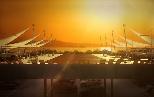 Sunset Beira-Rio Inter (Foto: Divulgação BRio)