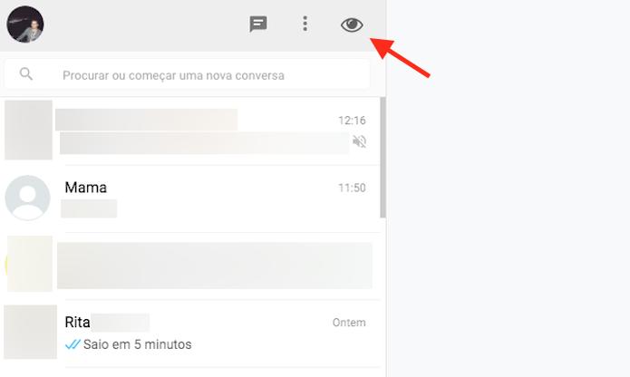 Opção para esconder conversas do WhatsApp com a WebChats Incognito Mode para Google Chrome  (Foto: Reprodução/Marvin Costa)