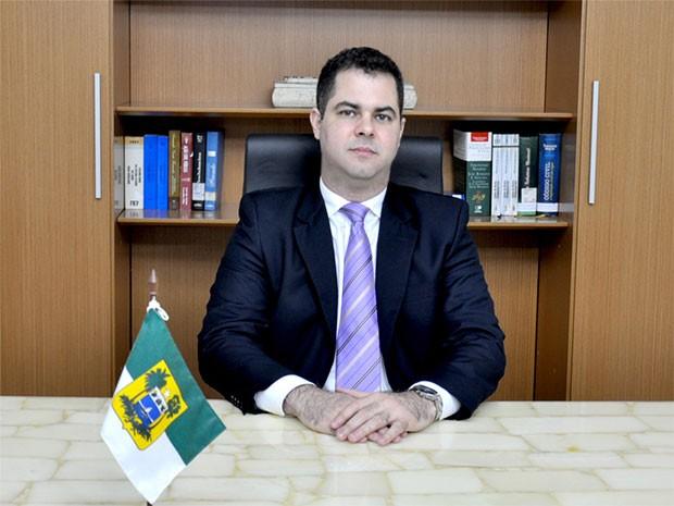 Cristiano Feitosa Mendes é o novo titular da Sejuc (Foto: Divulgação/Governo do RN)