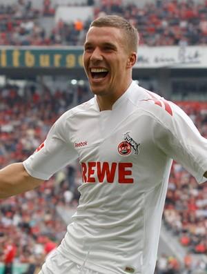 Podolski colonia gol bayer leverkusen (Foto: Agência Reuters)