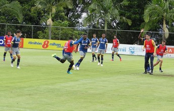Sob olhar atento de Dirceu Lopes, Cruzeiro faz último treino de 2016