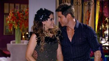 Fabian e Chayene voltam a ficar juntos
