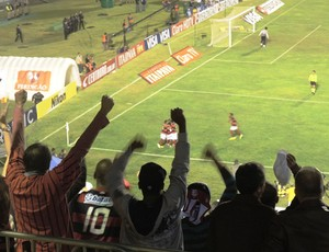 Torcida gol Flamengo x Campinense (Foto: Cahê Mota)