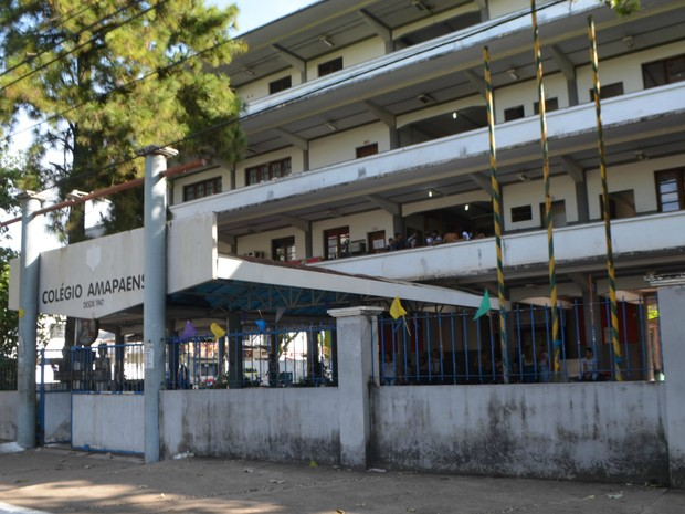 Colégio Amapaense, escola em tempo intergral, metodologia de ensino, Macapá, Amapá (Foto: Jorge Abreu/G1)