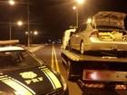 Traficante abandona em MS carro de SP com drogas durante fuga da PRF