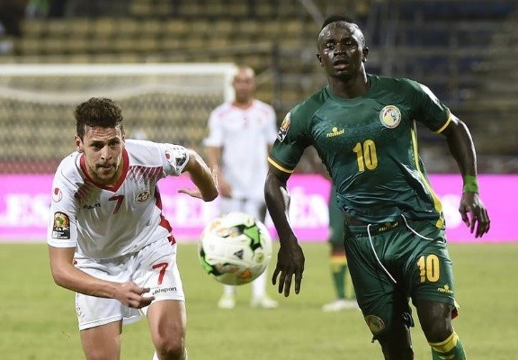 Sadio Mané fez o primeiro gol da vitória de Senegal