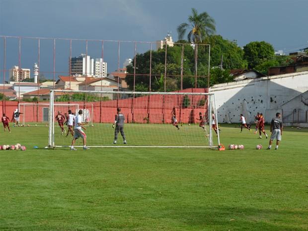 Boa Esporte pega o Nacional-MG na quarta-feira pela Taça Minas Gerais. (Foto: Tiago Campos / Globoesporte.com)