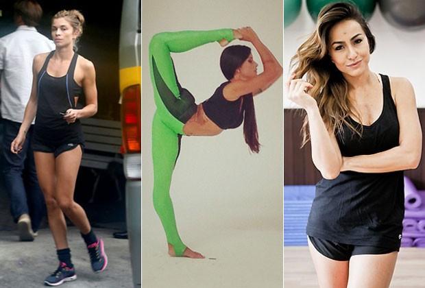 Moda fitness: lições das famosas para não errar no look
