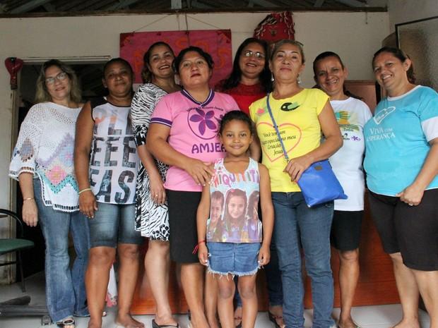 Associação de Mulheres Jasmim, do Iranduba, foi fundada em 2011 por Cacilda Viana (Foto: Jamile Alves/ G1 Amazonas)