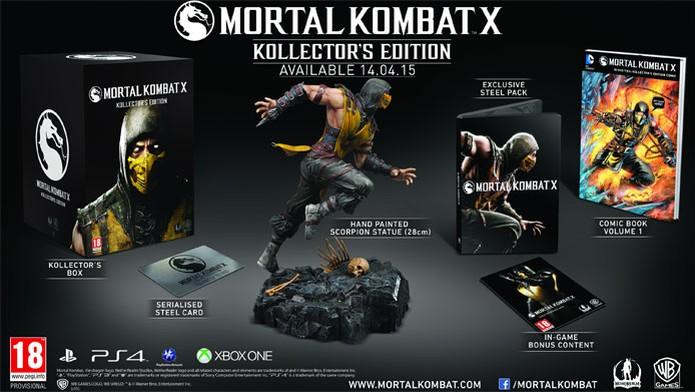 Edição especial de Mortal Kombat X (Foto: Divulgação)