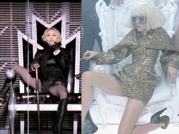 Madonna e Lady Gaga (Foto: Reprodução / Internet)