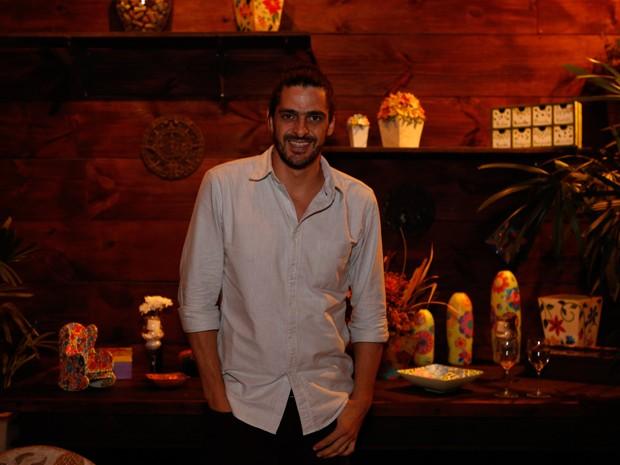 Julio Machado também marca presença (Foto: Ellen Soares / Gshow)