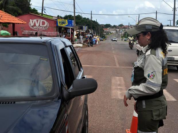 Agentes de fiscalização do Detran estarão nas vias mais movimentadas e nos acessos dos municípios mais procurados pelos foliões paraenses no Carnaval. (Foto: Divulgação/Ascom Detran)
