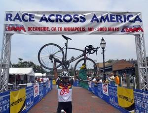 Ciclismo Claudio Clarindo na Raam (Foto: divulgação)