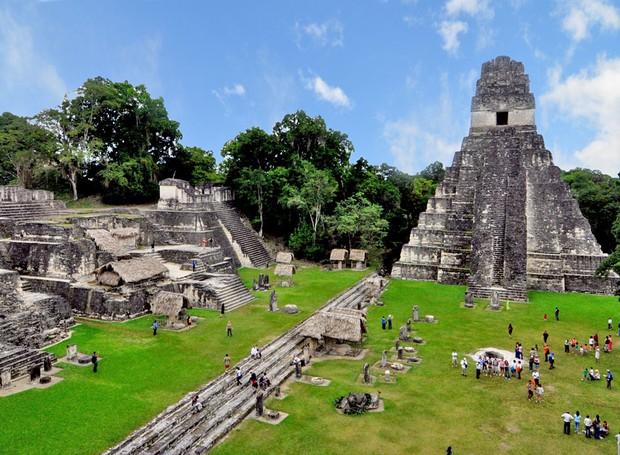 Tikal (Foto: Reprodução/bibliotecapleyades)
