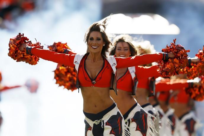 Cheerleaders Denver Broncos NFL (Foto: Getty Images)