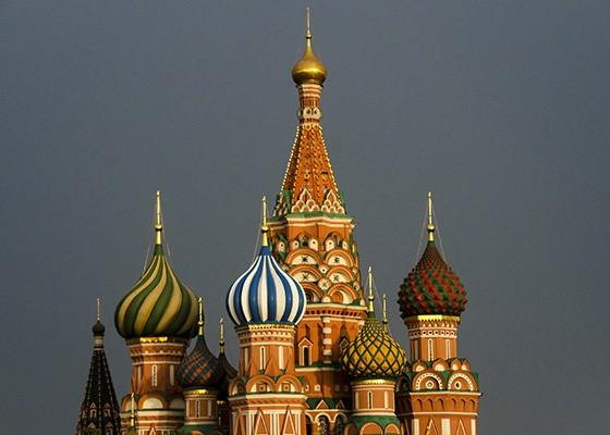 Símbolo de Moscou e da Rússia, a Catedral de São Basílio foi construída na Praça Vermelha em 1561 (Foto: © Haroldo Castro/ÉPOCA)