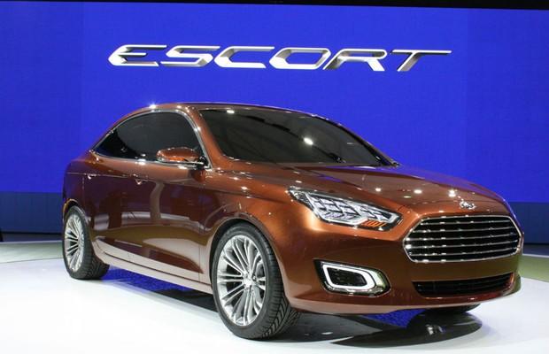 Ford Escort Concept (Foto: Reprodução)