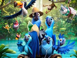 Rio 2 cinema filme animação (Foto: Divulgação)