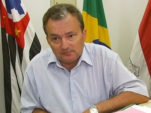 O prefeito de Pirassununga, Ademir Alves Lindo (PSDB) (Foto: Reprodução/ EPTV)