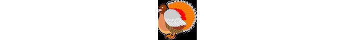 Emoji de peru de Ação de Graças (Foto: Divulgação/Consórcio Unicode)