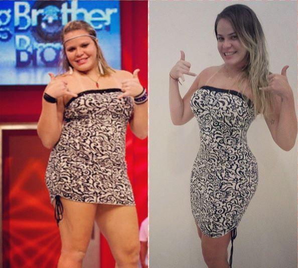 Ex-BBB Paulinha mantém este vestido desde a época do reality. É a peça que ela ecolheu  no dia de seu último paredão (Foto: Arquivo pessoal)