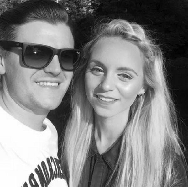 Rich Bishop, 25, e Jessica Sharman, 20 (Foto: Reprodução Facebook)