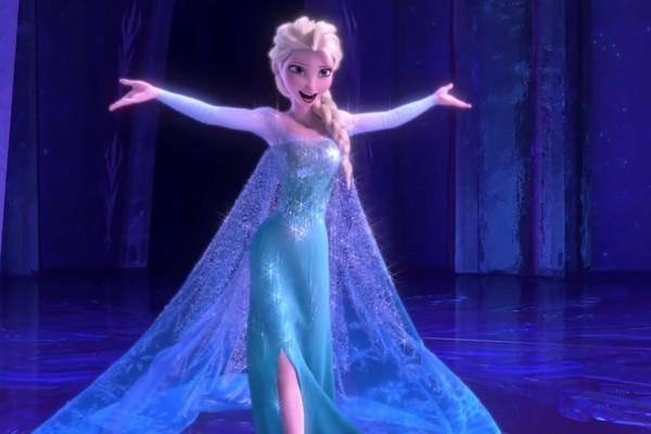 A personagem Elsa de Frozen (2013) (Foto: Reprodução)