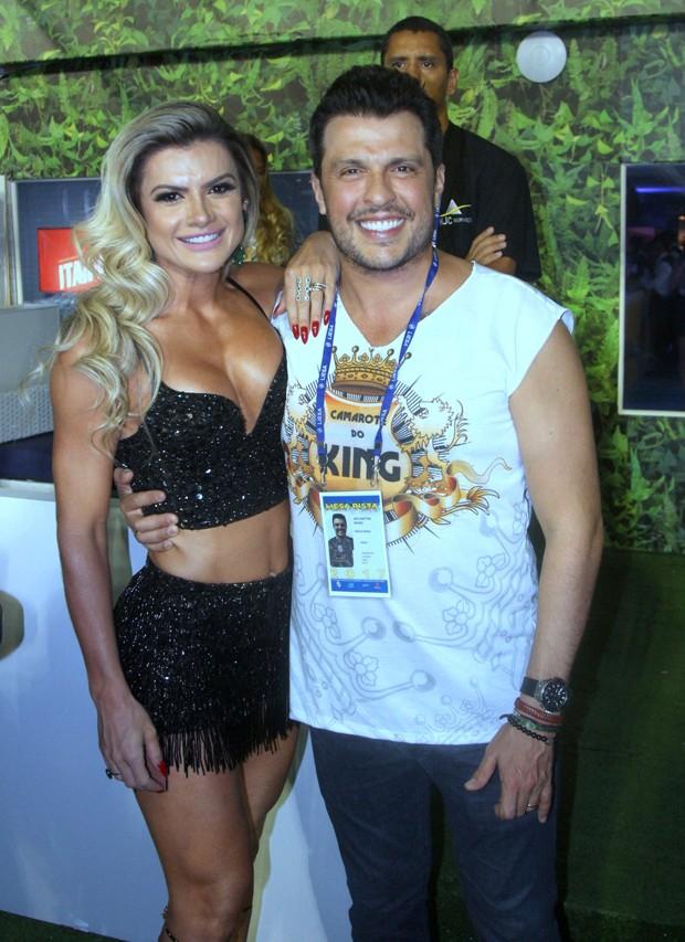 Mirella Santos e Ceará (Foto: Rogerio Fidalgo / AGNews)