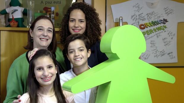 Jovens do Click Esperança conhecem sede da Unesco (Divulgação)