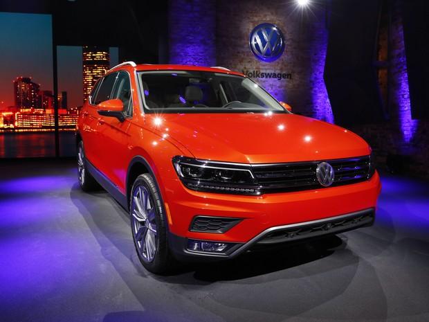 Volkswagen Tiguan Allspace (Foto: AP Photo/Paul Sancya)