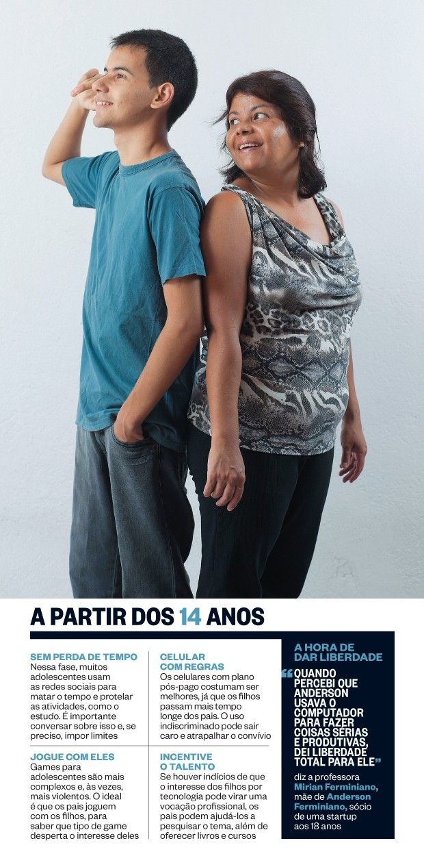 A partir dos 14 anos (Foto: Rogério Cassimiro/ÉPOCA)