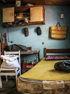 Simples quarto se transforma em arte por fotógrafo (Foto: Rafael Simioni / Arquivo pessoal)
