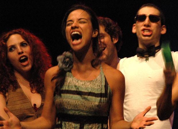 Miá Mello cursou teatro na Escola Superior Célia Helena  (Foto: Reprodução/Instagram)