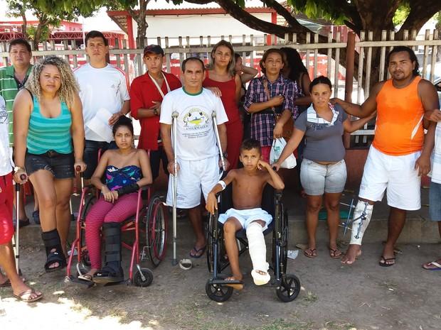 amapá; macapá; he; hospital de emergência; pacientes; (Foto: John Pacheco/G1)